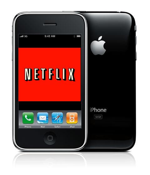 Netflix on iPhone